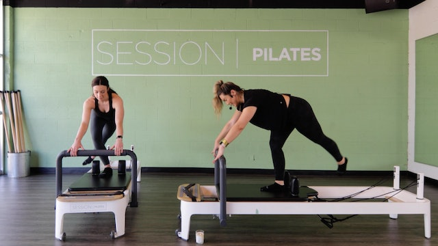 Reformer: Glutes With Christine