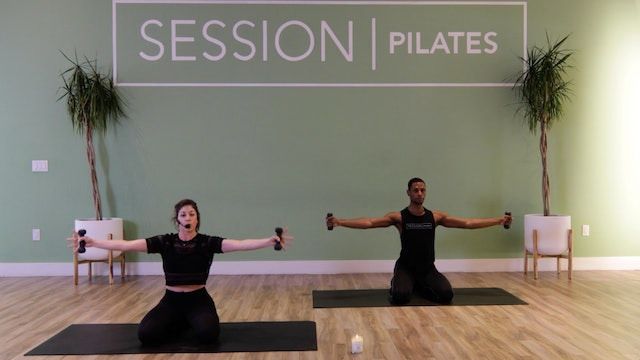 Floor: Shoulders, Chest & Triceps With Allison