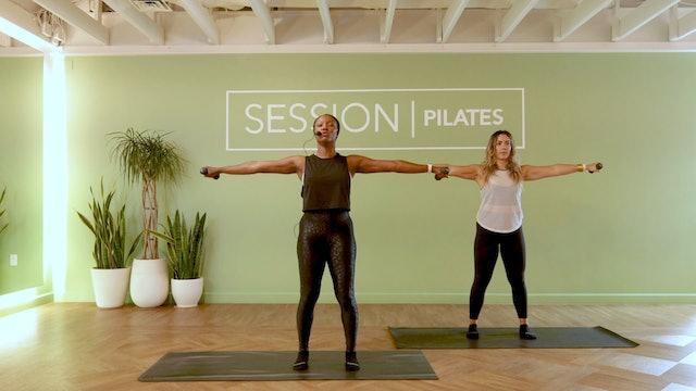 Floor: Shoulders & Chest With Jasmine