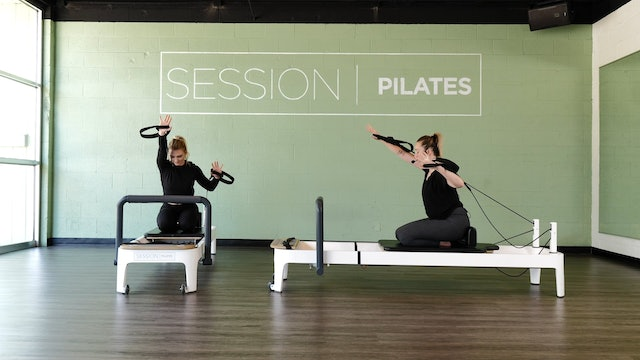 Reformer: Chest & Triceps With Ashley