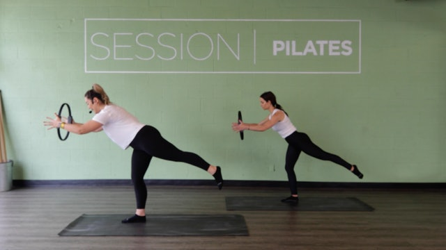Floor: Glutes & Hamstrings *Magic Circle* With Christine