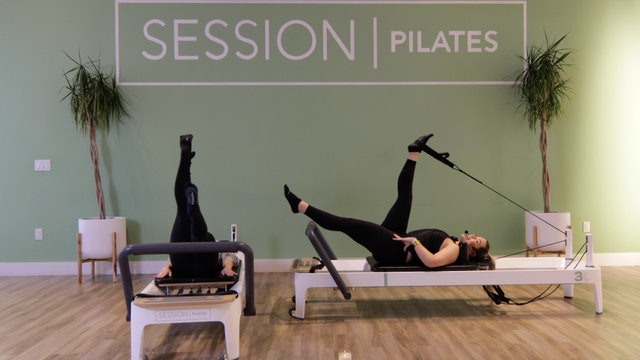Reformer: Lying Lower Body With Christine