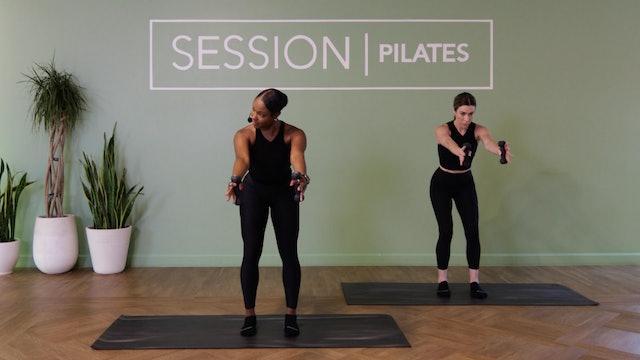 Floor: Biceps & Triceps *Weights* With Jasmine