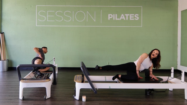Reformer: Hamstrings, Glutes & Outer Thighs With Haley
