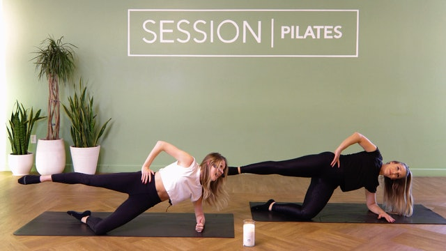 Floor: Outer Thighs & Outer Glutes With Brittany