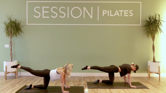 Floor: Outer Thighs, Glutes & Hamstrings With Alie