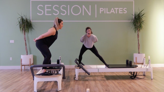 Reformer: Glutes, Hamstrings, Outer & Inner Thighs With Allison