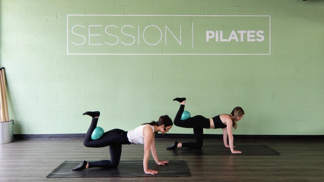 Floor: Outer Thighs *Pilates Ball* With Haley