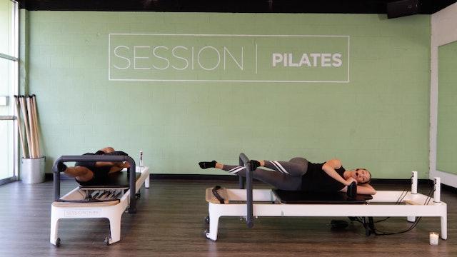 Reformer: Lower Body (Body Weight & Lying Side Leg Press) With Ashley