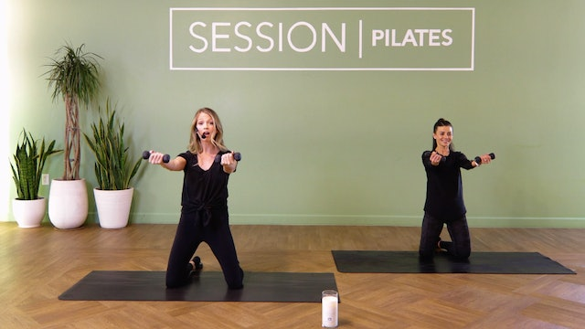 Floor: Triceps & Shoulders With Brittany