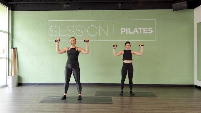 Floor: Shoulders & Biceps With Sarah