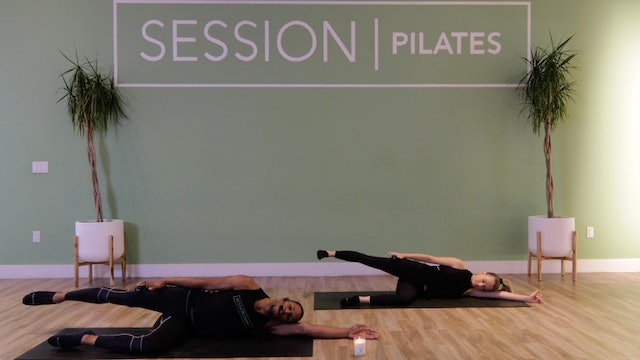 Floor: Glutes & Outer Thighs With Zion