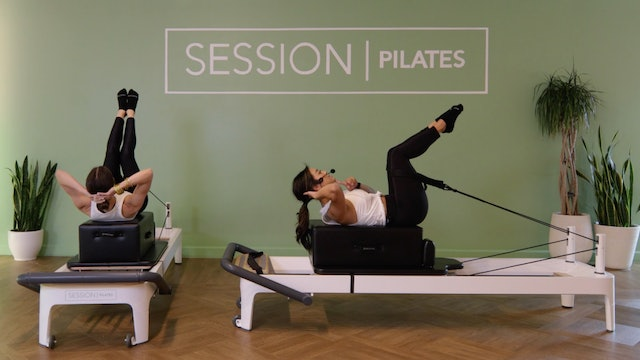 Reformer: Seated Abs on Box With Brandy