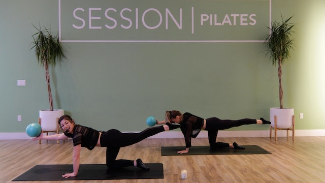 Floor: Glutes, Outer Thighs & Hamstrings *Pilates Ball* With Allison