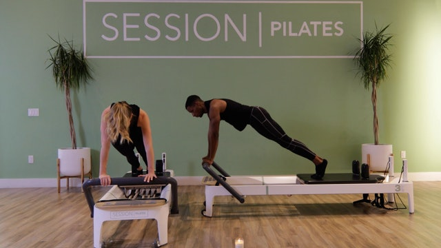Reformer: Plank Progression With Brittany