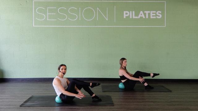 Floor: Core *Pilates Ball* With Haley