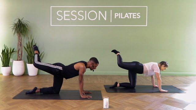 Floor: Outer Thighs, Glutes & Hamstrings With Zion