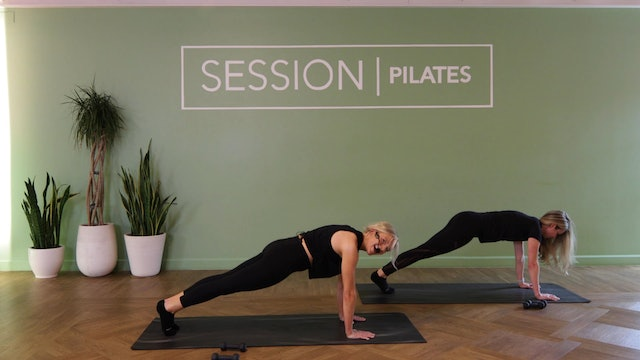 Floor: Quickie Abs *Weights* With Liza