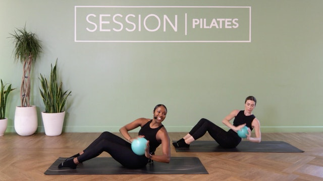 Floor: Core *Pilates Ball* With Jasmine