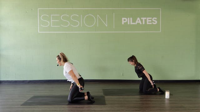 Floor: Single-Arm Triceps With Christine