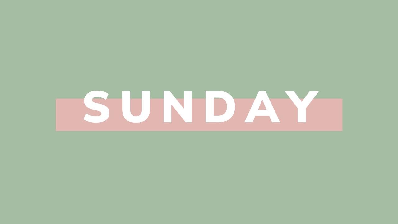 Sunday *Stretch*
