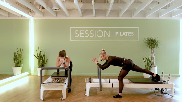 Reformer: Heavy Pushing Legs With West