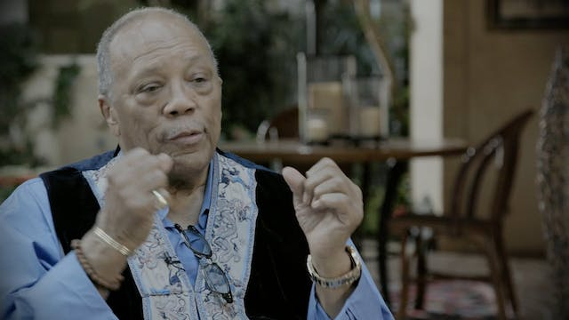 Quincy Jones - Interview Pt 2