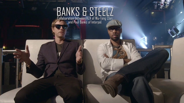 Banks & Steelz - Interview Pt 1