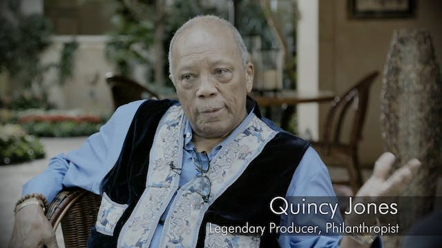 Quincy Jones - Interview Pt 1