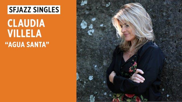 "Claudia Villela performs ""Agua Santa"""
