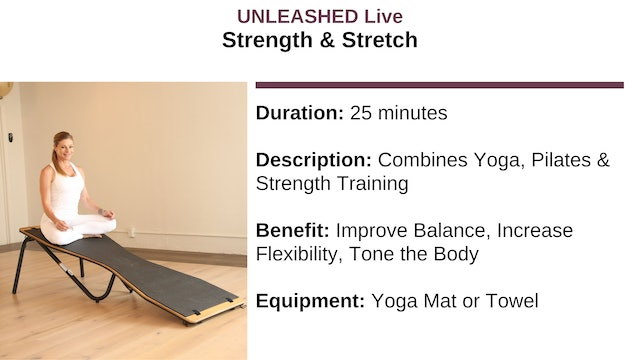 Strength & Stretch