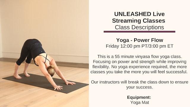 ~ Yoga - Power Flow ~