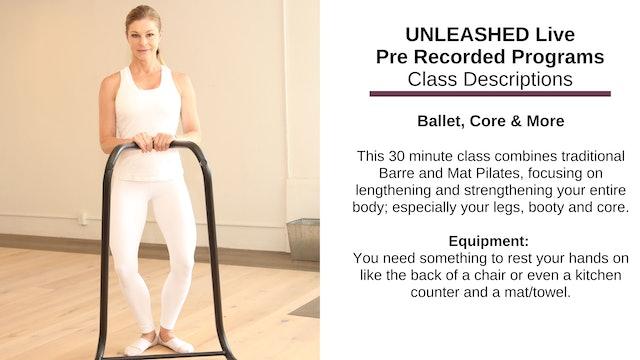 ~ Ballet, Core & More ~ Nov