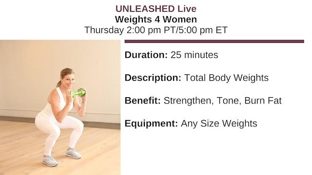 ~ Weights 4 Women - 1/10