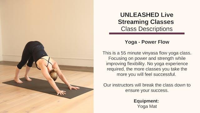 Yoga - Power Flow - Oct