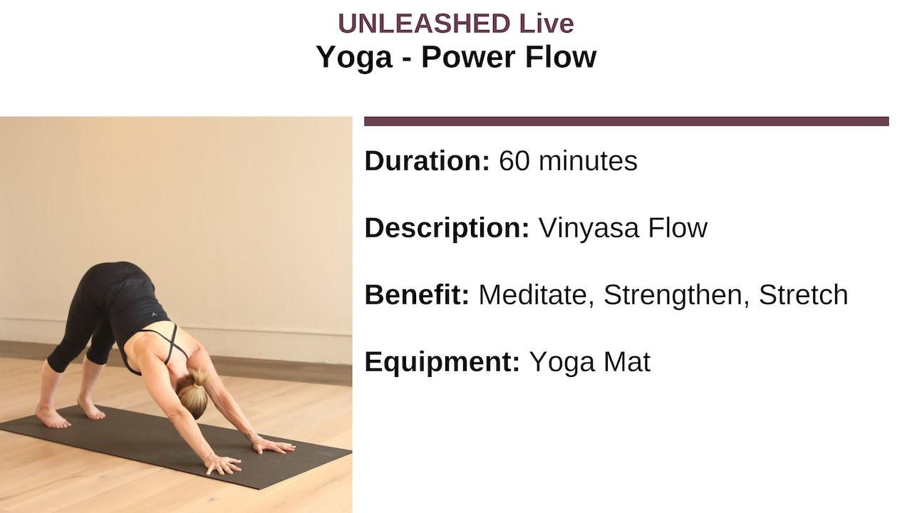 Yoga - Power Flow