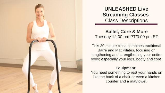 Ballet, Core & More - Oct