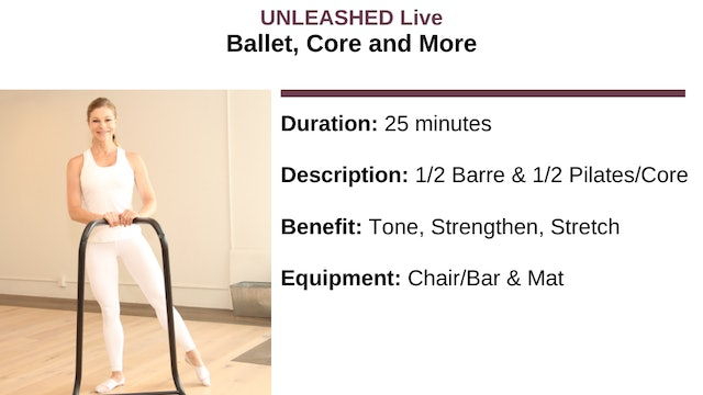 Ballet Core and More