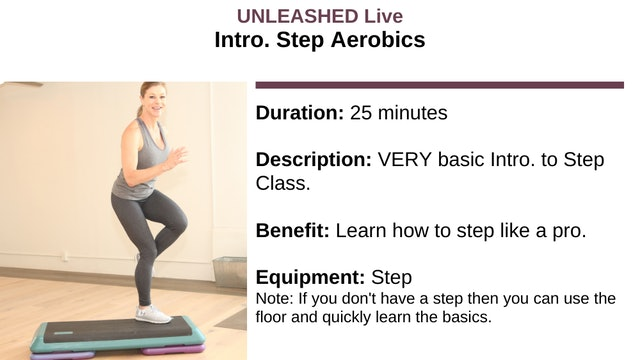 Intro to Step