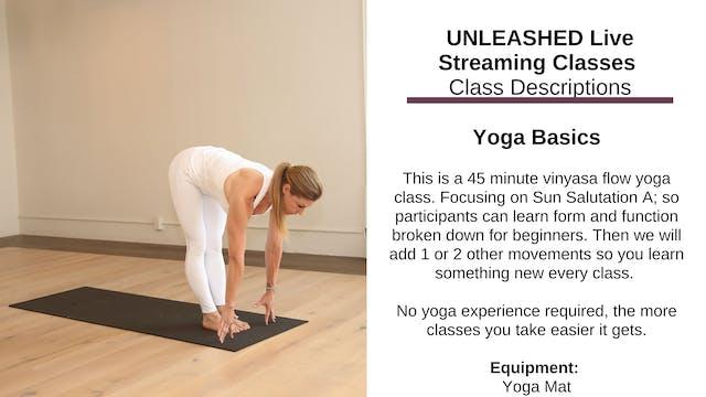 ~ Yoga Basics ~ Nov