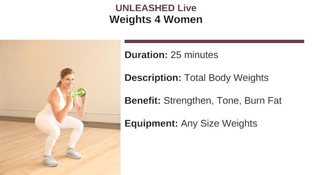 Weights 4 Women
