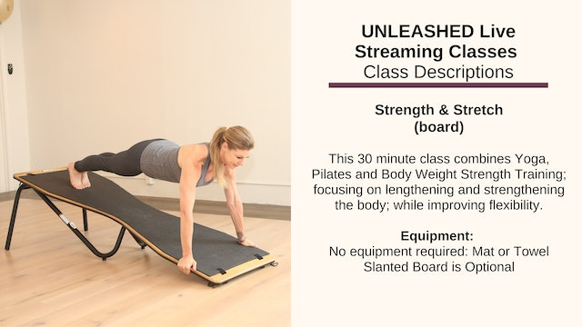 Strength & Stretch - Oct