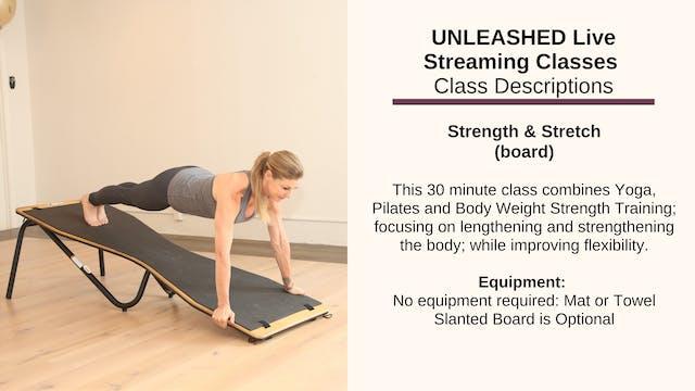 Strength & Stretch - Oct