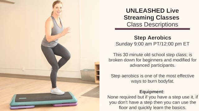 Step Aerobics - for Beginners