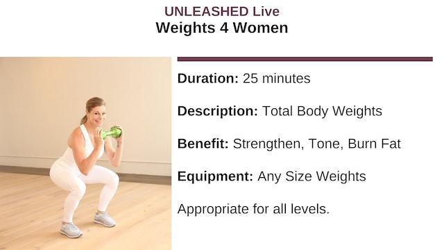 Weights 4 Women - December