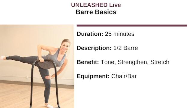 Barre Basics