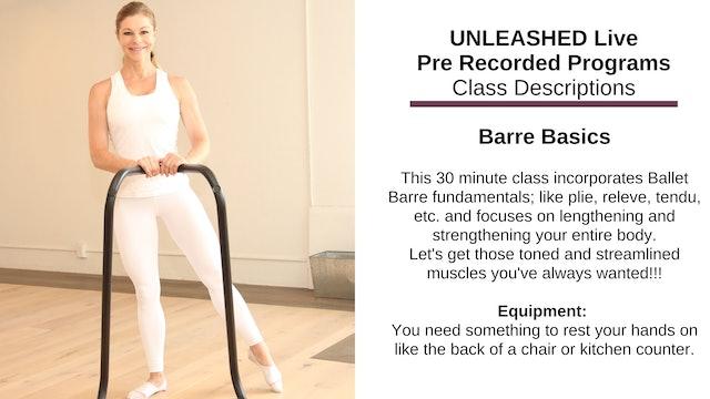 ~ Barre Basics ~ Nov