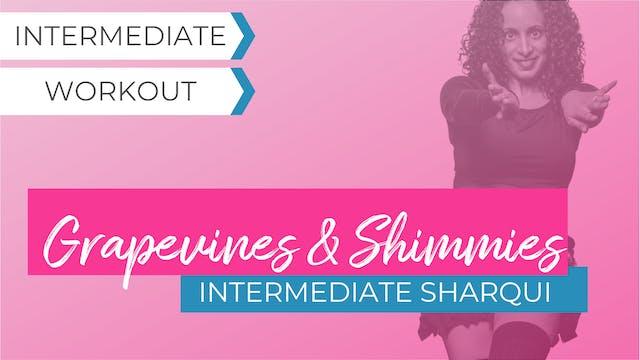 Grapevine and Shimmy Focus: Intermediate SharQui
