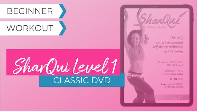 Classic DVD: SharQui - the Bellydance Workout Level 1