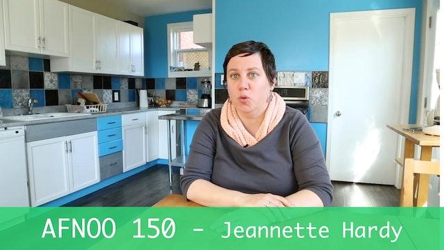 AFNOO 150 - Jeannette Hardy